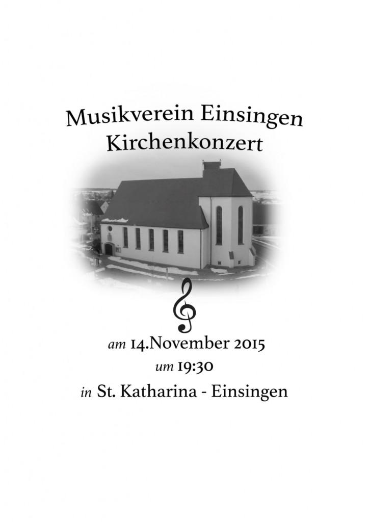 Kirchenkonzert MVE 2015 Flyer